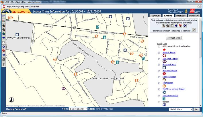 Louisville KY Crime Map Metro Louisville Crime Data 2010