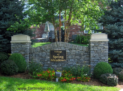 Springhurst Village of Spring Meadows Louisville KY 40241 Condos in The Villages of Springhurst Patio Homes For Sale off White Blossom Blvd at Lilac Vista Dr