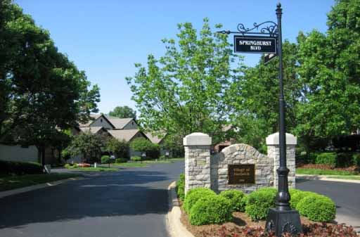 Springhurst Village of Hartwick Louisville KY 40241 Condos in The Villages of Springhurst Townhouse Condos For Sale off Springhurst Blvd at Hartwick Village Dr
